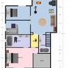 Ampliar casa de 64mt2 (remodelar 1er piso y construir 2do piso)