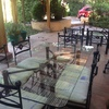 Decoración living-comedor-terraza