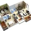Maqueta de casa a escala